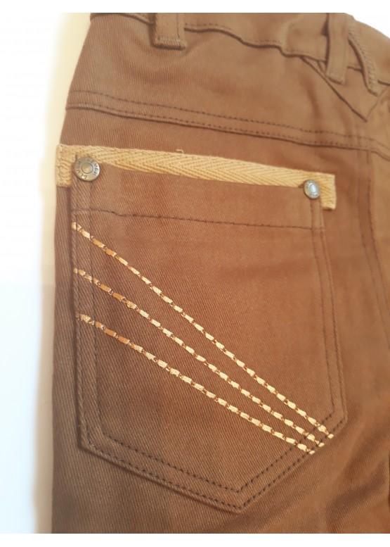 Штани для хлопчика коричневі