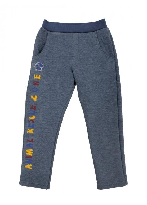 Купити теплі сірі штани для хлопчика