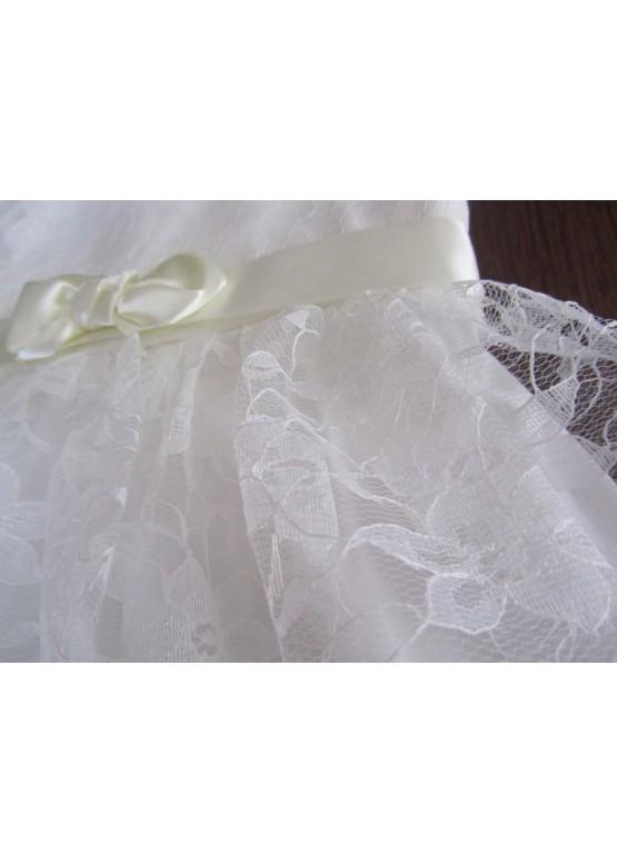 """Плаття для дівчинки """"Мрія"""" колір молочний"""